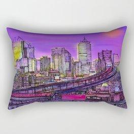 Boston blinding lights Rectangular Pillow