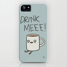 Drink Me Coffee Slim Case iPhone (5, 5s)