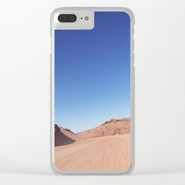Four-Wheel-Driving Through the Pinks and Blues of Antelope Canyon 03 Clear iPhone Case