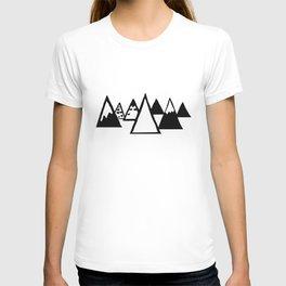 tiny mountains T-shirt