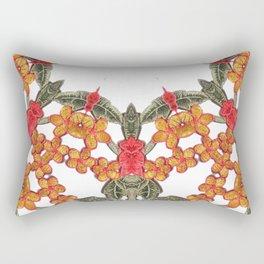 Embroidered Pattern Rectangular Pillow