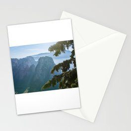 Meteora Monastery Landscape, Greece Stationery Cards