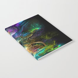 Neons - Fractal - Visionary - Manafold Art Notebook