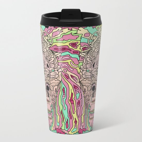 T W I N S Metal Travel Mug
