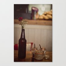 Ambience cafe Canvas Print