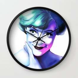 Maggie Smith Wall Clock
