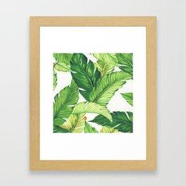 BANANA JUNGLE Framed Art Print