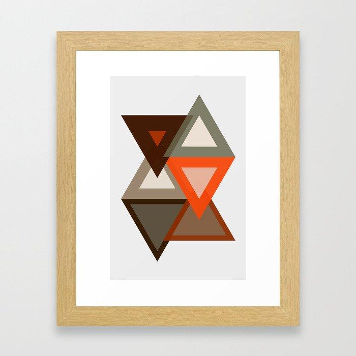 Quicksand Framed Art Print