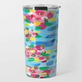 Abstract Searose Candy Colorplosion Travel Mug