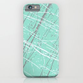 Beach Glass, Ultimate Gray & Lucent White iPhone Case