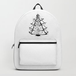 Christmas Tree Hugs Backpack