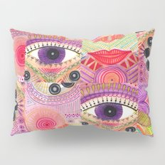 colorful words of a poem Pillow Sham