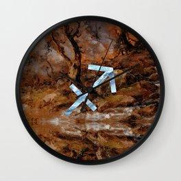 Fine Zodiac / Sagittarius Wall Clock