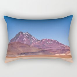 Atacama Volcano Rectangular Pillow
