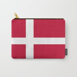 The flag of danmark Carry-All Pouch