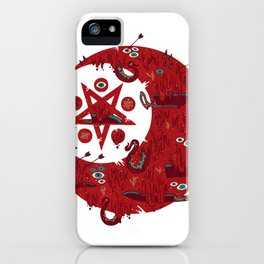 The Blood Moon Compels You to Fuck Shit Up iPhone Case