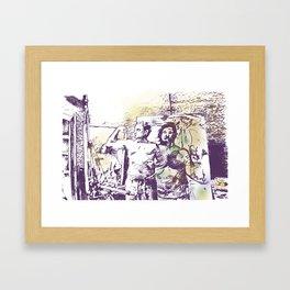 Manly x3 Framed Art Print