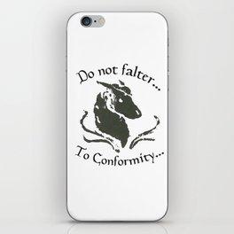 Dissenter iPhone Skin