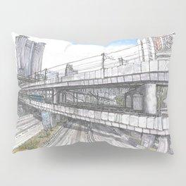 Hong Kong Highway Pillow Sham