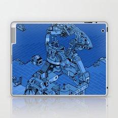 Blue Bird Machine City Laptop & iPad Skin