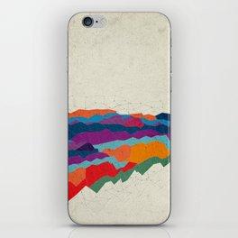 Landscape on Mars iPhone Skin