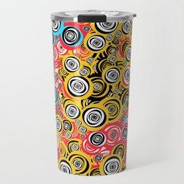 Comic Eyes Travel Mug