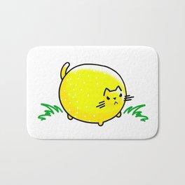 Sourpuss- Bitter Lemon Kitty Cat Bath Mat