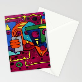 Lost Signal Stationery Cards