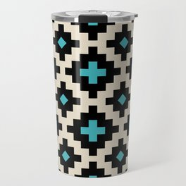 Southwestern Pattern 223 Travel Mug
