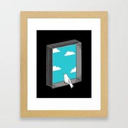 Every book a window Framed Art Print