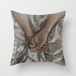 Supplication Throw Pillow