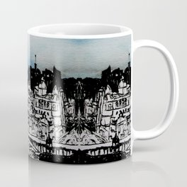 Edinburgh Illustration, Watercolor and Chinese Ink Coffee Mug