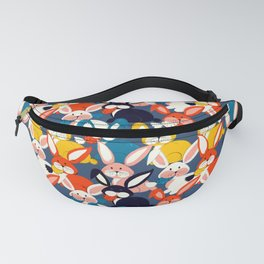 Rabbit colored pattern no2 Fanny Pack