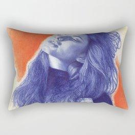 Before the summer ends Rectangular Pillow