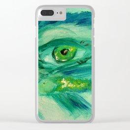 Fish Eye I Clear iPhone Case