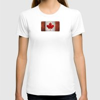 canada T-shirts featuring Canada by Arken25