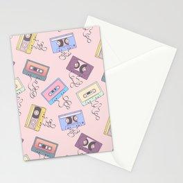 Cassette Pattern Stationery Cards