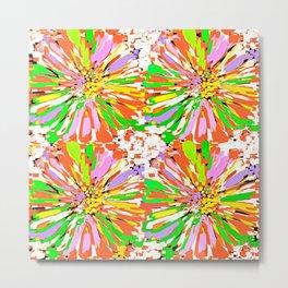 Dahlia Colorburst Abstract #1 Metal Print