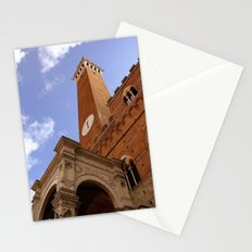Clock Tower in Sienna Stationery Cards