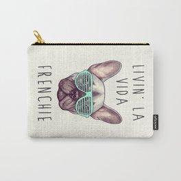French bulldog - Livin' la vida Frenchie Carry-All Pouch