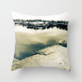 and so we journeyed to the sea, day 1 Throw Pillow