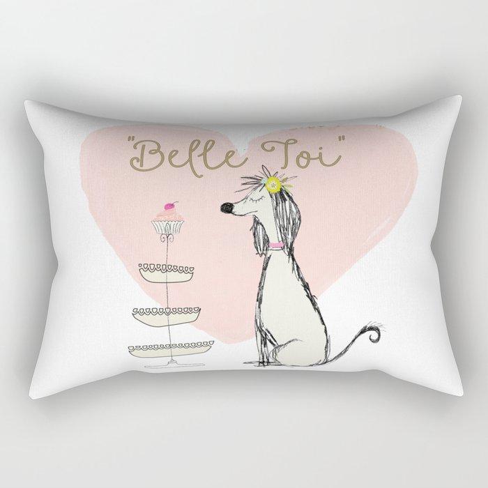 Belle Toi Rectangular Pillow