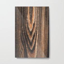 Old vintage wood Metal Print