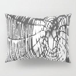 Intricate Halloween Spider Web Black Palette Pillow Sham
