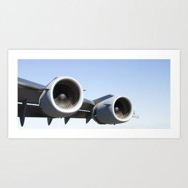 C17 C-17 Globemaster Military Cargo Airplane/Aircraft USAF Art Print