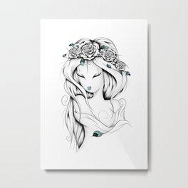 Poetic Gypsy Metal Print