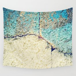 Cracked Stone Wall Tapestry