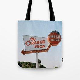 The Orange Shop Tote Bag