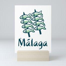 Welcome to Malaga 8 Mini Art Print