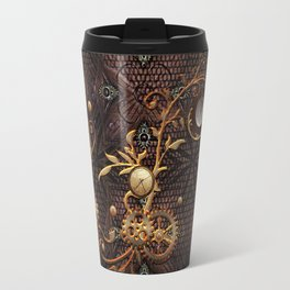 Steampunk, gallant design Travel Mug
